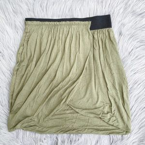 Urban Outfitters Silence + Noise Wrap Skirt